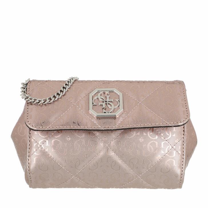 Handtasche, Guess, Dilla Cnvrtble Xbody Belt Bag Pewter