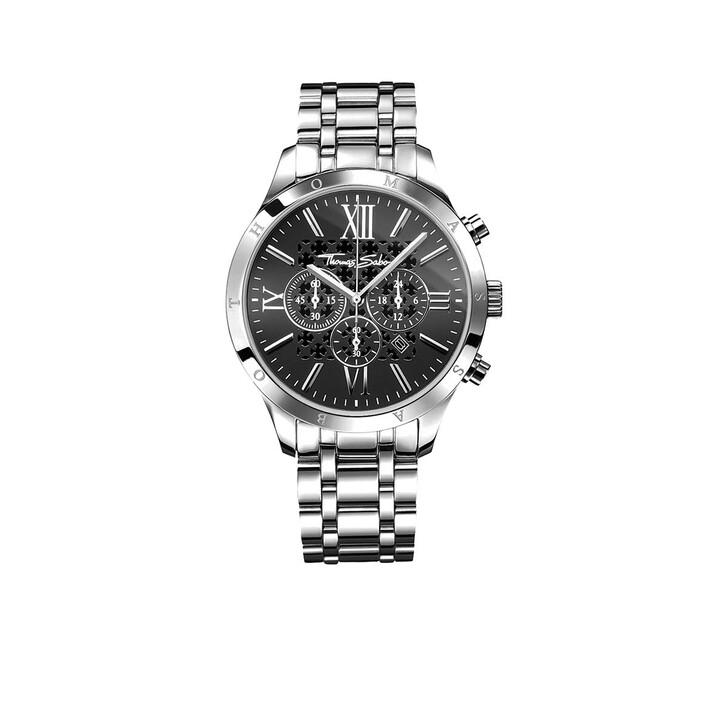 Uhr, Thomas Sabo, Watch Rebel Urban Silver/Black