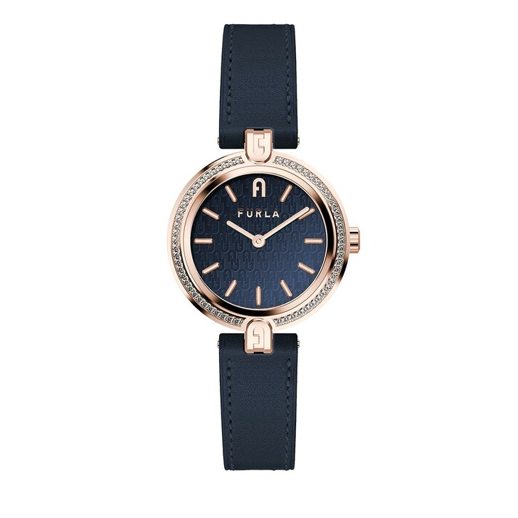 Uhr, Furla,  Logo Links Watch Blue