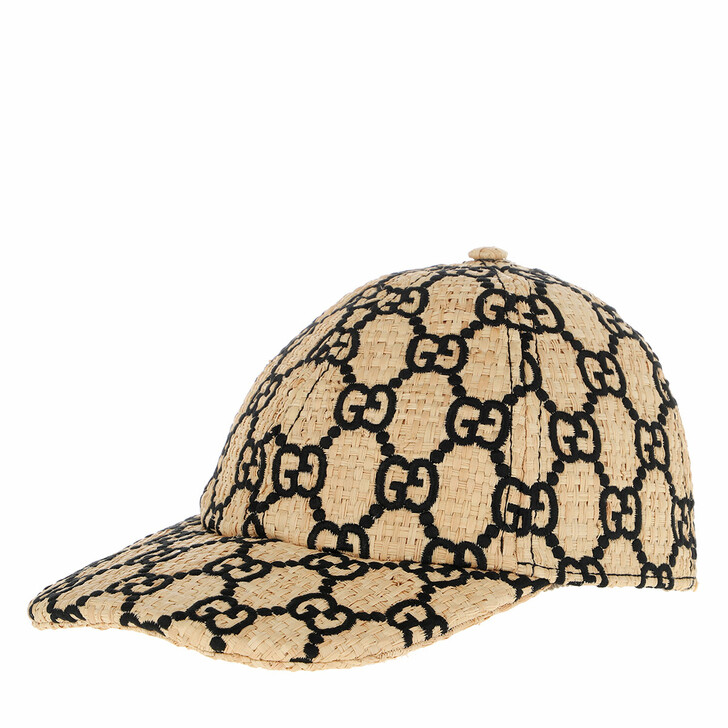 Mütze, Gucci, Baseball Cap Snakeskind Ivory/Black