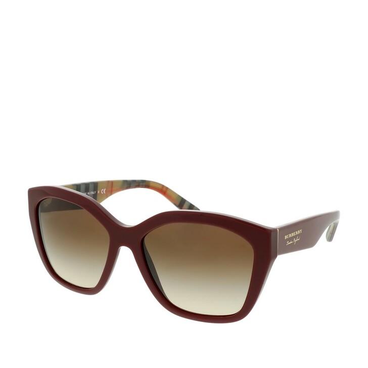 Sonnenbrille, Burberry, Women Sunglasses Heritage 0BE4261 Bordeaux