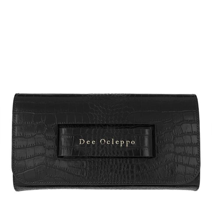 Handtasche, Dee Ocleppo, Dee Hand Clutch Black