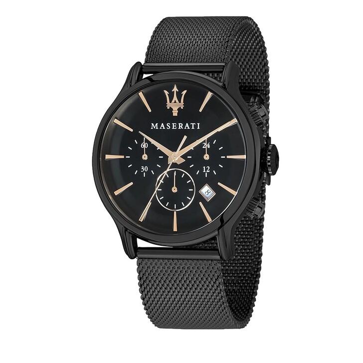 watches, Maserati, Epoca Ext 42mm  black