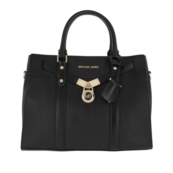 Handtasche, MICHAEL Michael Kors, Large Satchel Black