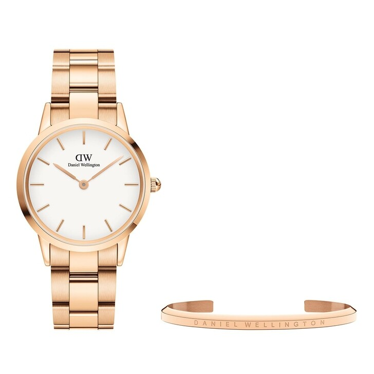 Uhr, Daniel Wellington, Iconic Link 32mm + Classic Bracelet Small Rose Gold