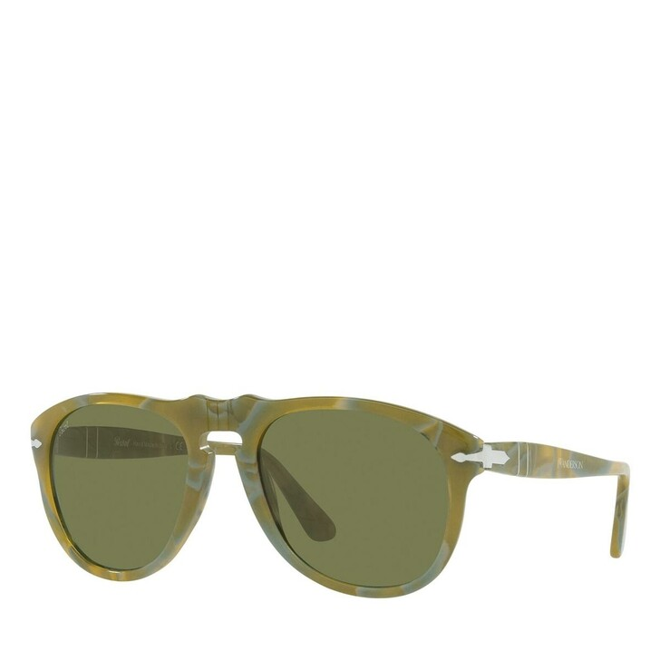 sunglasses, Persol, Sunnglasses Man 0PO0649 11464E Green Spotted Recycled