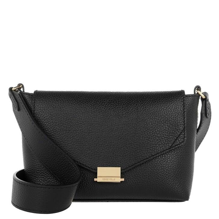 Handtasche, Coccinelle, Mini Bag Pelle Vitello Noir