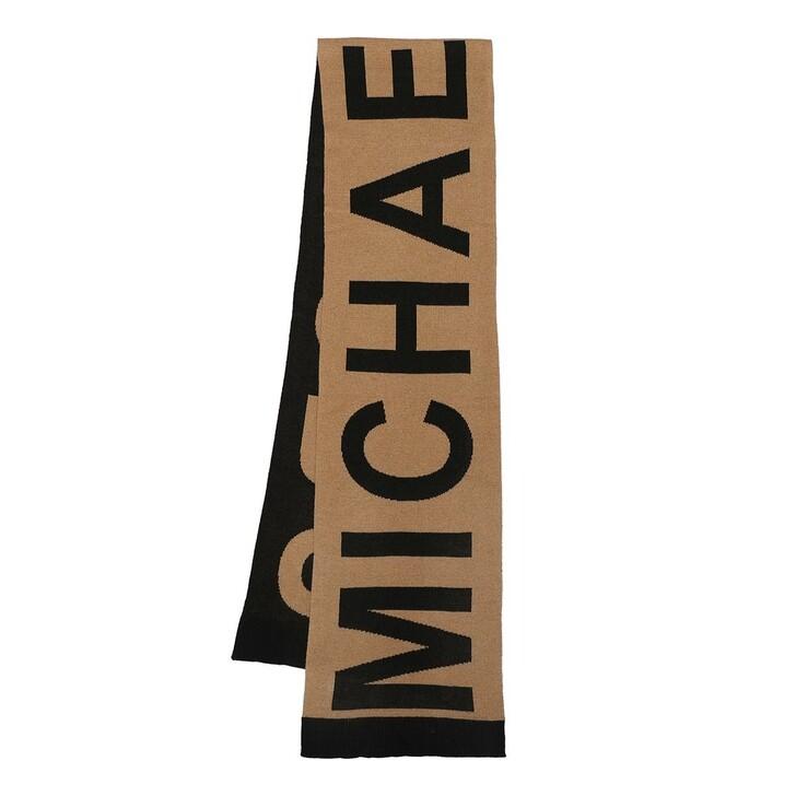 scarves, MICHAEL Michael Kors, Mk Bold Logo Scarf