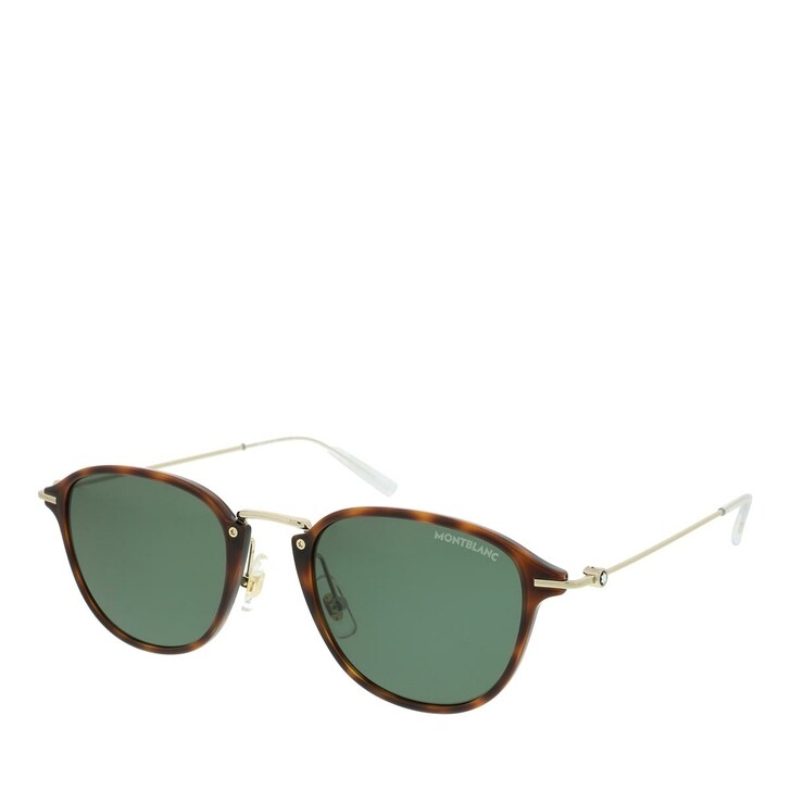 Sonnenbrille, Montblanc, MB0155S-002 51 Sunglass MAN INJECTION HAVANA