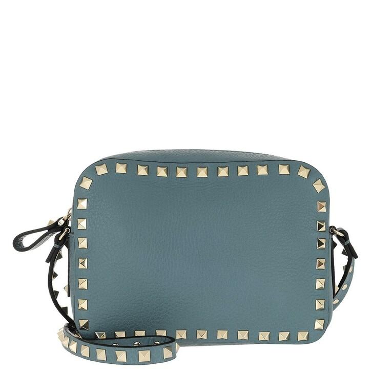 Handtasche, Valentino, Rockstud Camera Crossbody Bag Amadeus