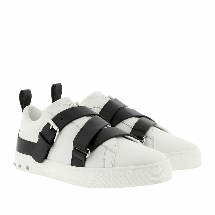shoes, Valentino Garavani, Trainers V Punk White/Black