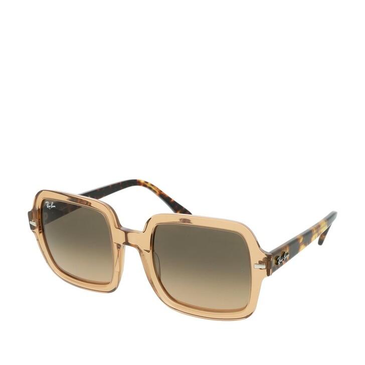 sunglasses, Ray-Ban, Women Sunglasses Highstreet 0RB2188 Transparent Light Brown
