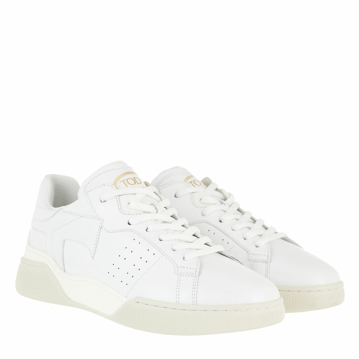 Schuh, Tod's, Low Top Sneakers Leather White