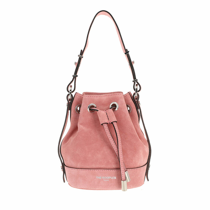 Handtasche, The Kooples, Tina Daim Bucket Pink
