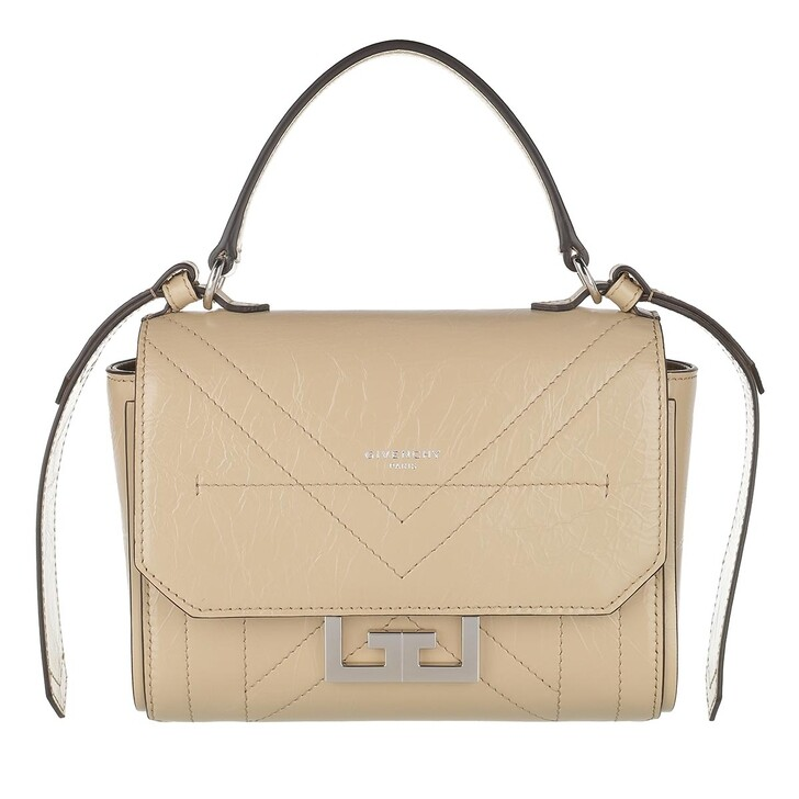 Handtasche, Givenchy, Eden Mini Crossbody Bag Leather Beige