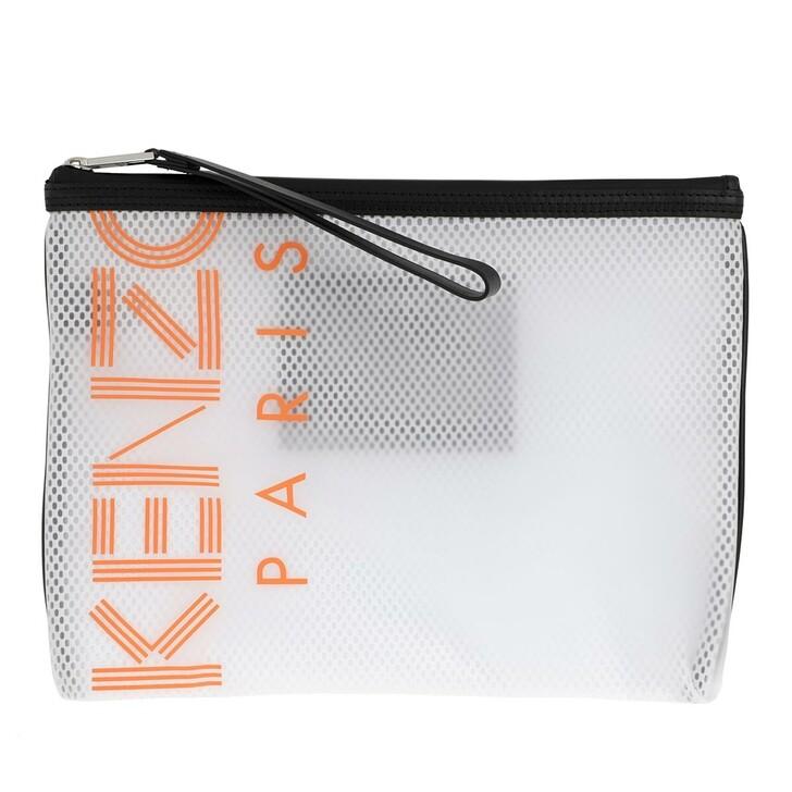 Handtasche, Kenzo, Pouch White