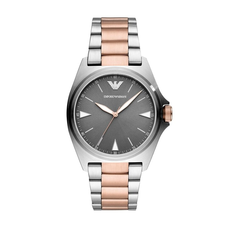 Uhr, Emporio Armani, AR11256 Men Dress Silver