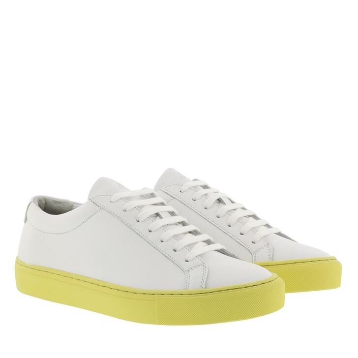 Schuh, Kūlson, Kulson Lemonade Sneaker Leather White