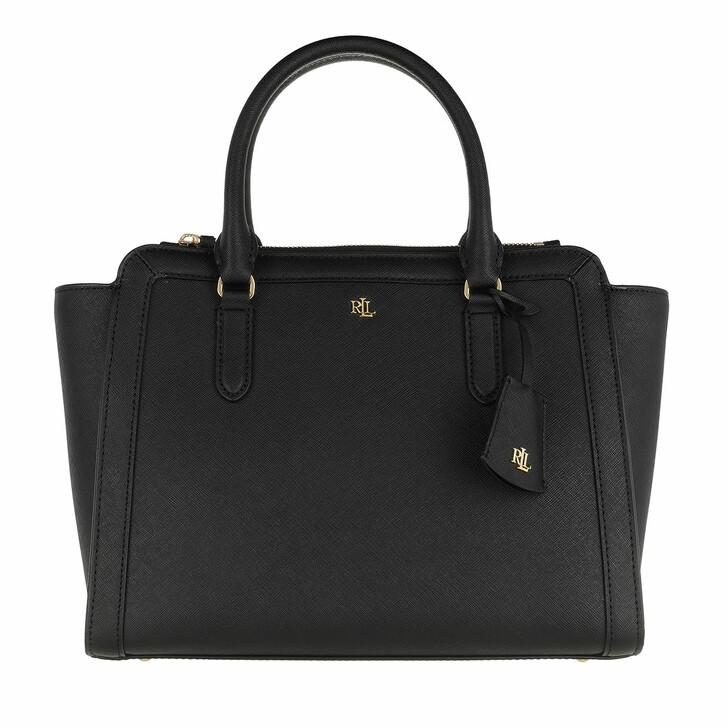 Handtasche, Lauren Ralph Lauren, Brooke 27 Satchel Medium Black