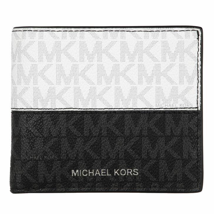 Geldbörse, MICHAEL Michael Kors, Billfold Black/Red