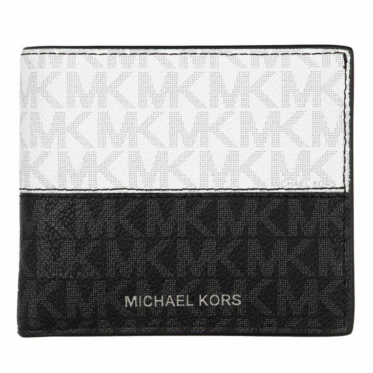 Geldbörse, MICHAEL Michael Kors, Billfold Black/Red