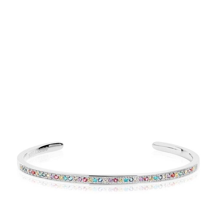 bracelets, Sif Jakobs Jewellery, Valiano Bangle Multicoloured Zirconia 925 Sterling Silver