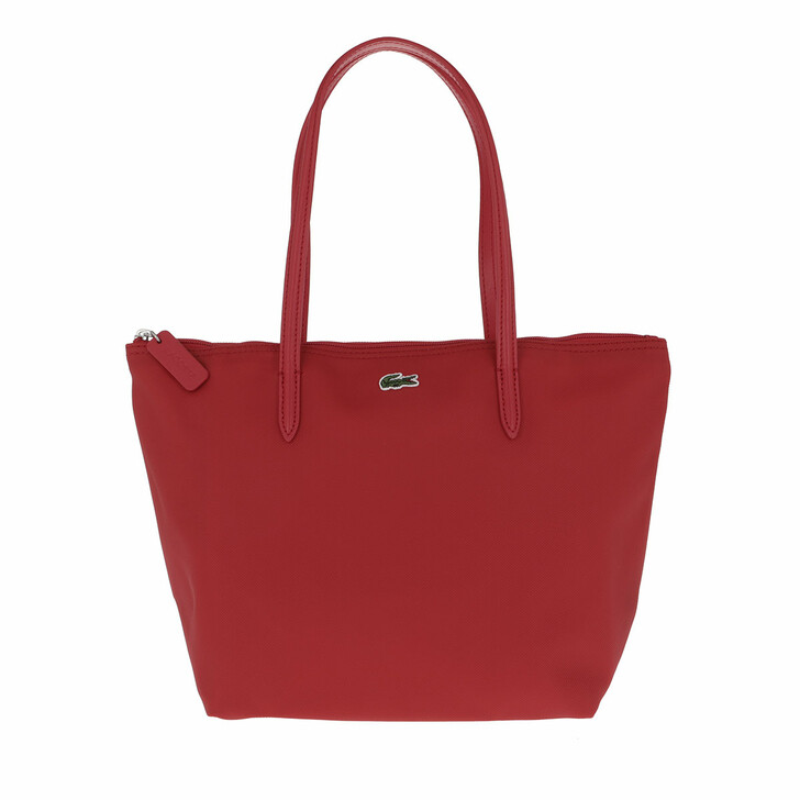 Handtasche, Lacoste, Small Concept Tote Bag Haut Rouge