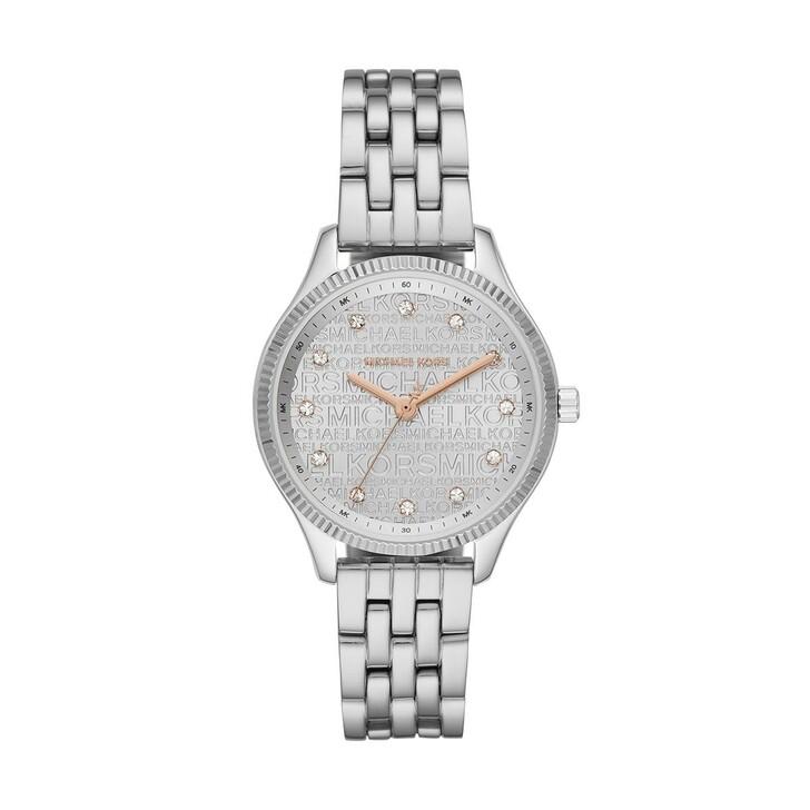 watches, Michael Kors, Lexington Jetset Watch Silver