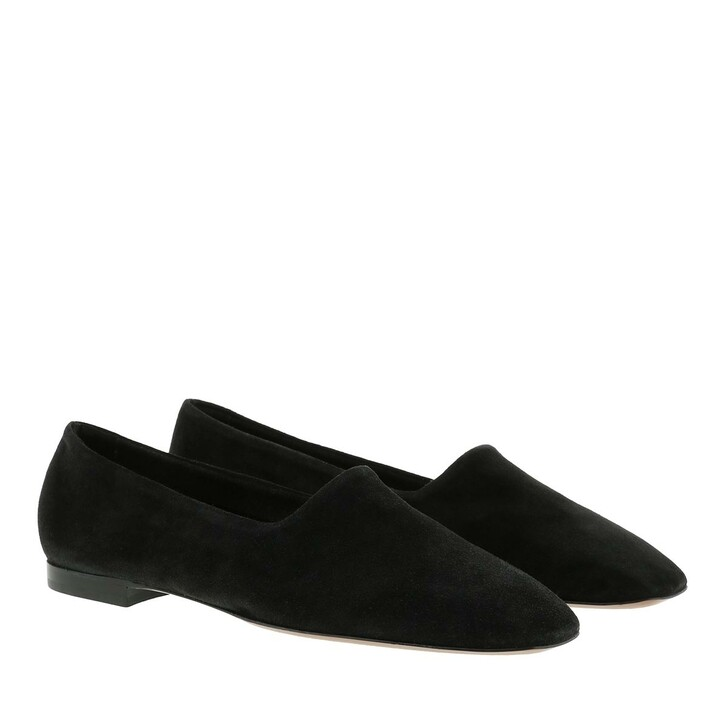 Schuh, ATP Atelier, Andrano Suede Loafers Black