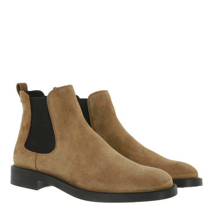 Schuh, Tod's, Ankle Boots Suede Brown