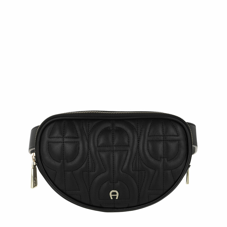 Handtasche, AIGNER, Diadora S Belt Bag Black
