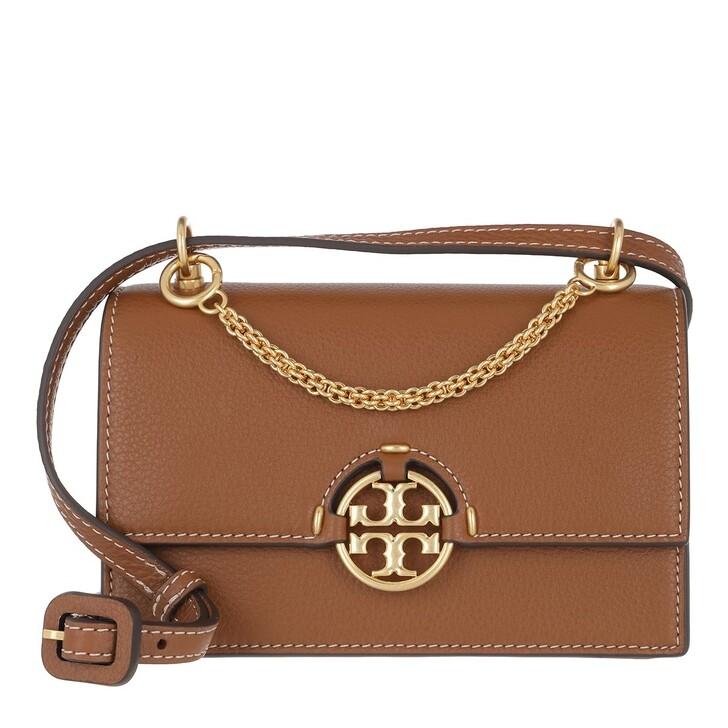 Handtasche, Tory Burch, Miller Mini Bag Light Umber