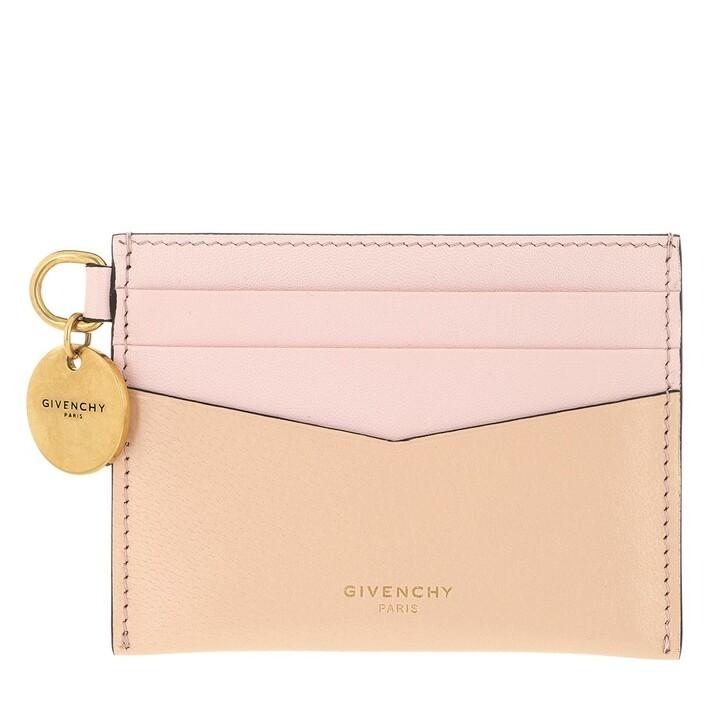 Geldbörse, Givenchy, Card Case Leather Light Pink