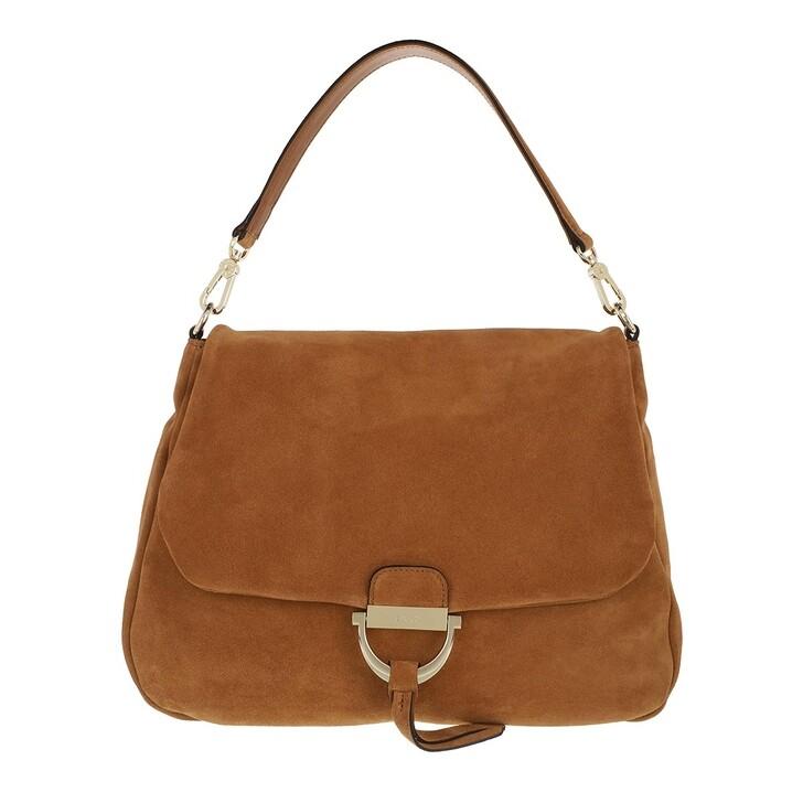 Handtasche, Abro, Shoulder Bag Temi Maxi Camel