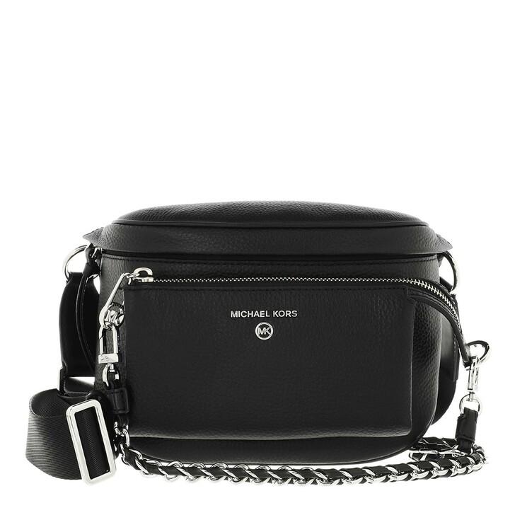 Handtasche, MICHAEL Michael Kors, Medium Sling Pack  Handbag  Leather Black