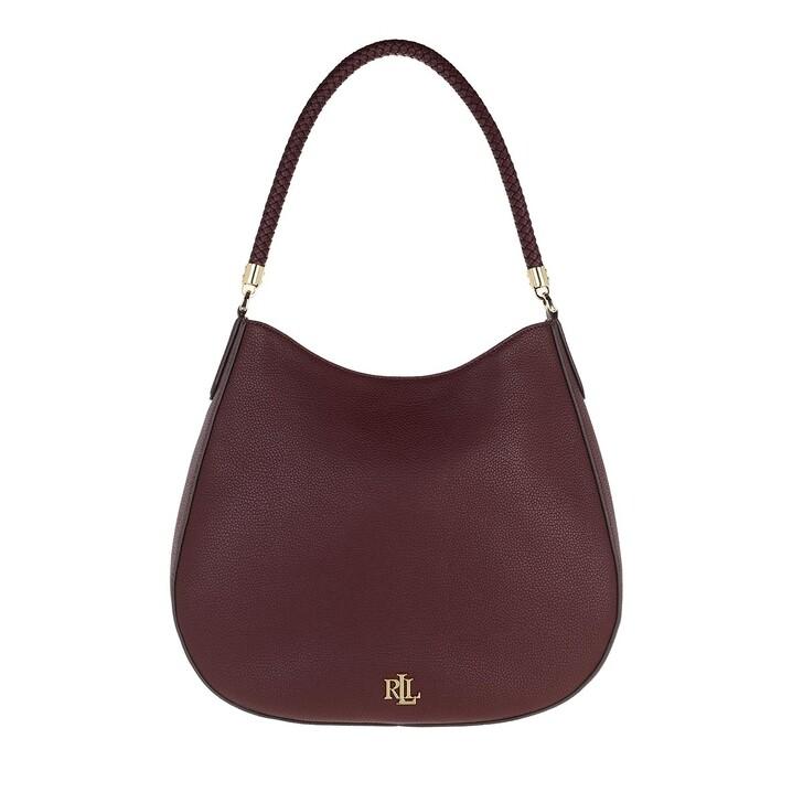 bags, Lauren Ralph Lauren, Charli 35 Shoulder Bag Large Bordeaux