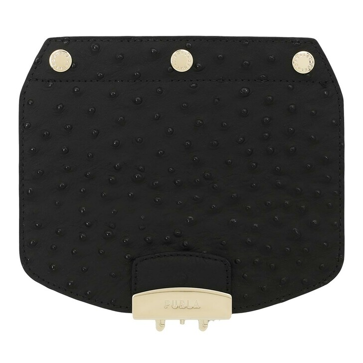 Handtasche, Furla, Metropolis Mini Crossbody Flap Nero