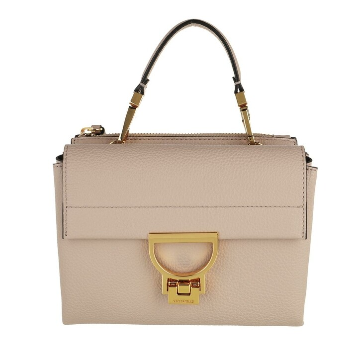 bags, Coccinelle, Handbag Grainy Leather  Powder Pink