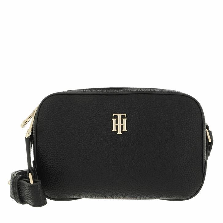 bags, Tommy Hilfiger, Tommy Hilfiger Essence Camera Bag Black