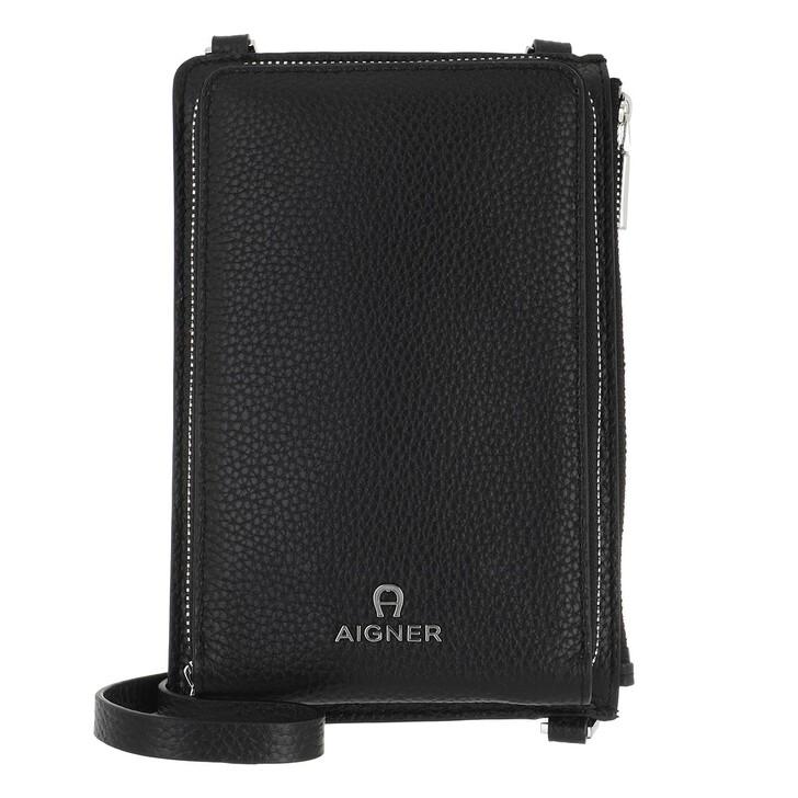 Bag Straps, AIGNER, Phone Case Black