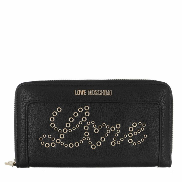 wallets, Love Moschino, Wallet   Nero