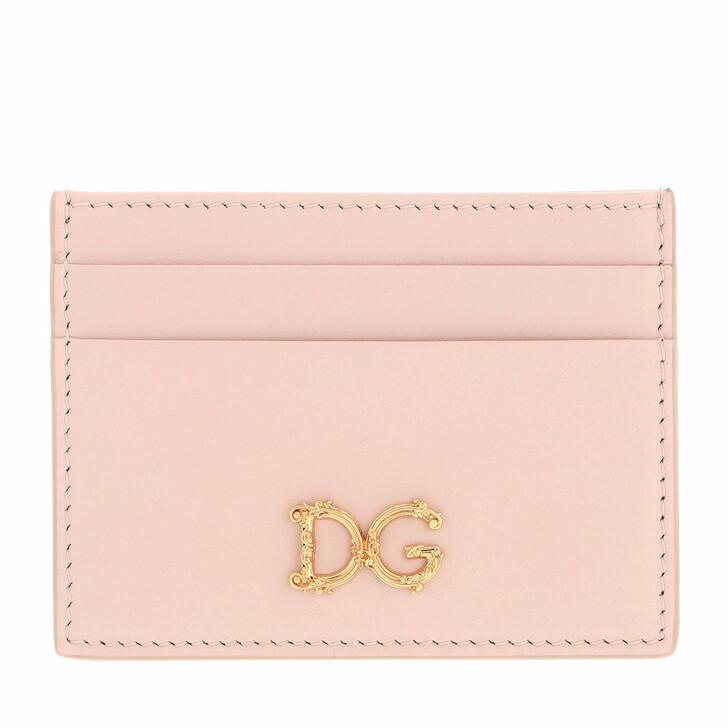 wallets, Dolce&Gabbana, Credit Card Holder Rose