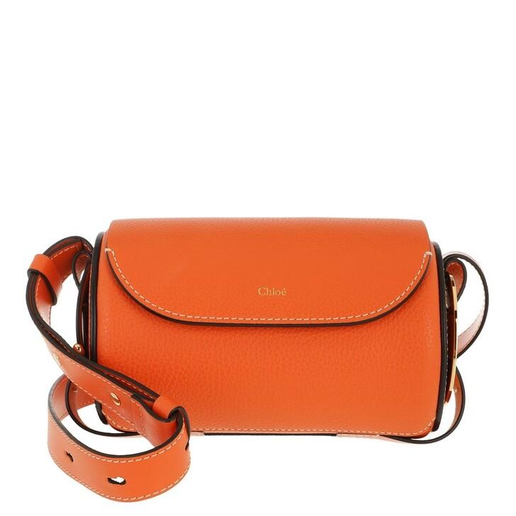bags, Chloé, Darryl Mini Bag Leather Arrancione