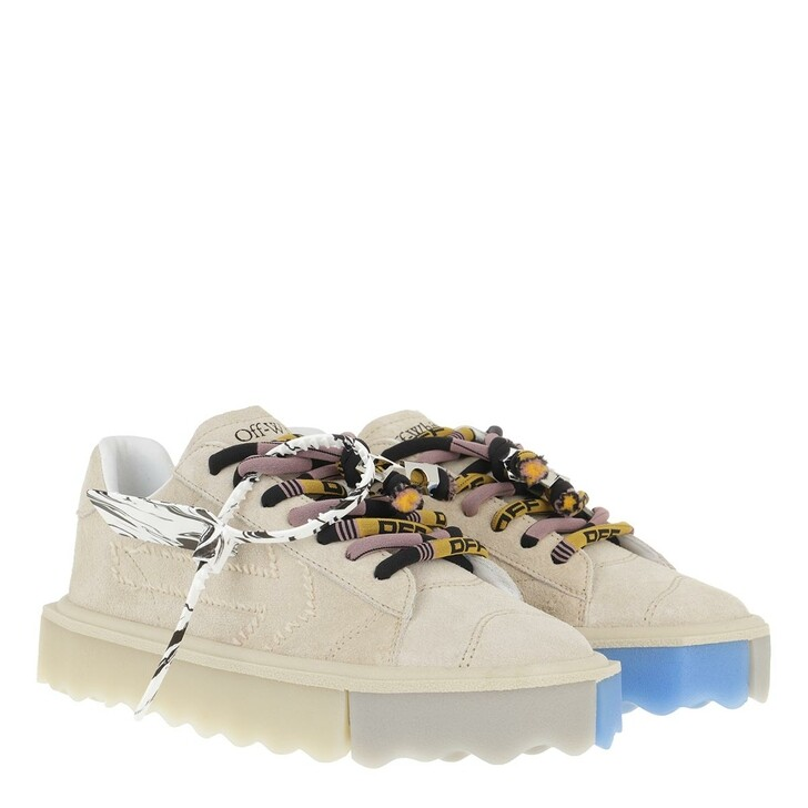 shoes, Off-White, Sponge Sneakers Beige