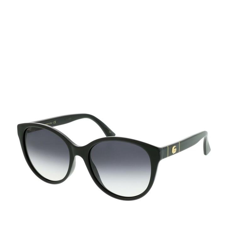Sonnenbrille, Gucci, GG0631S-001 56 Sunglasses Black-Black-Grey