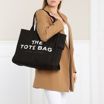 The Traveler Tote Bag Black