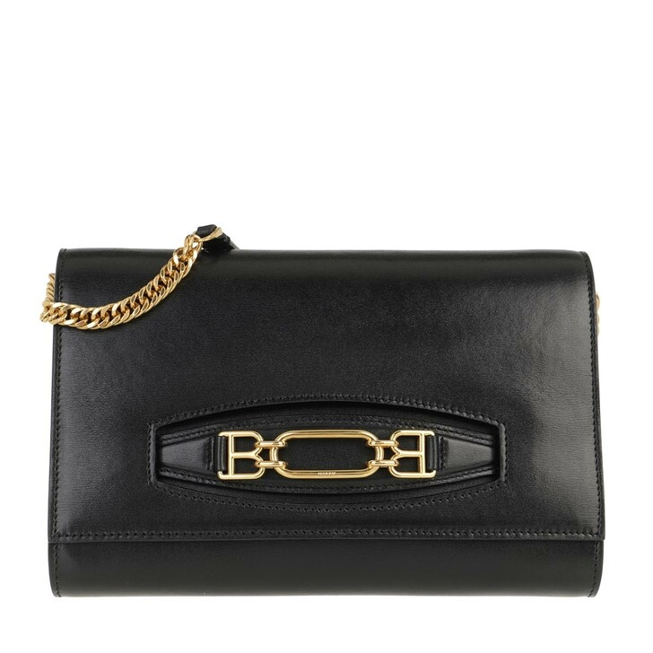 Handtasche, Bally, Valeriee Pochette Black