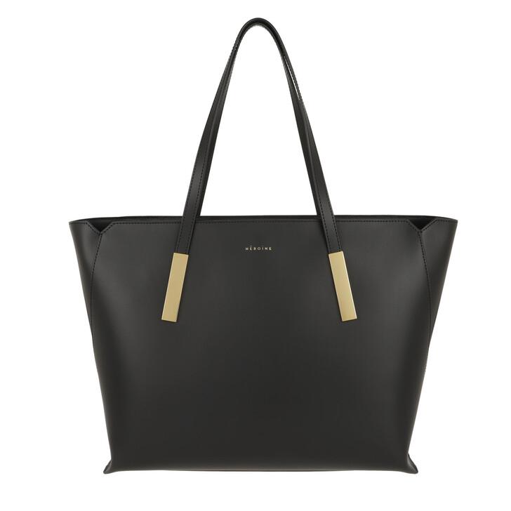 Handtasche, Maison Hēroïne, Franca Shoulder Bag Black