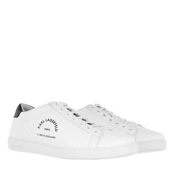 shoes, Karl Lagerfeld, Kupsole Maison Lace White