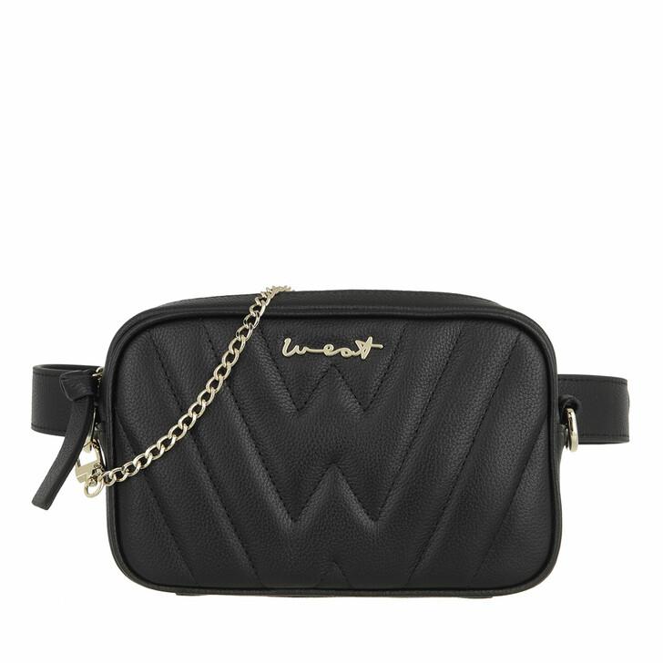 bags, WEAT, Belt Bag Black Gold XS /S Black